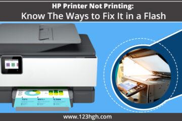hp printer not printing,